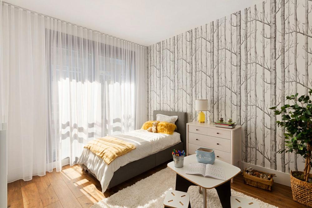 Modern Chelsea Apartment By B Interior Apartment Bedroom - Interior Design - HD Wallpaper