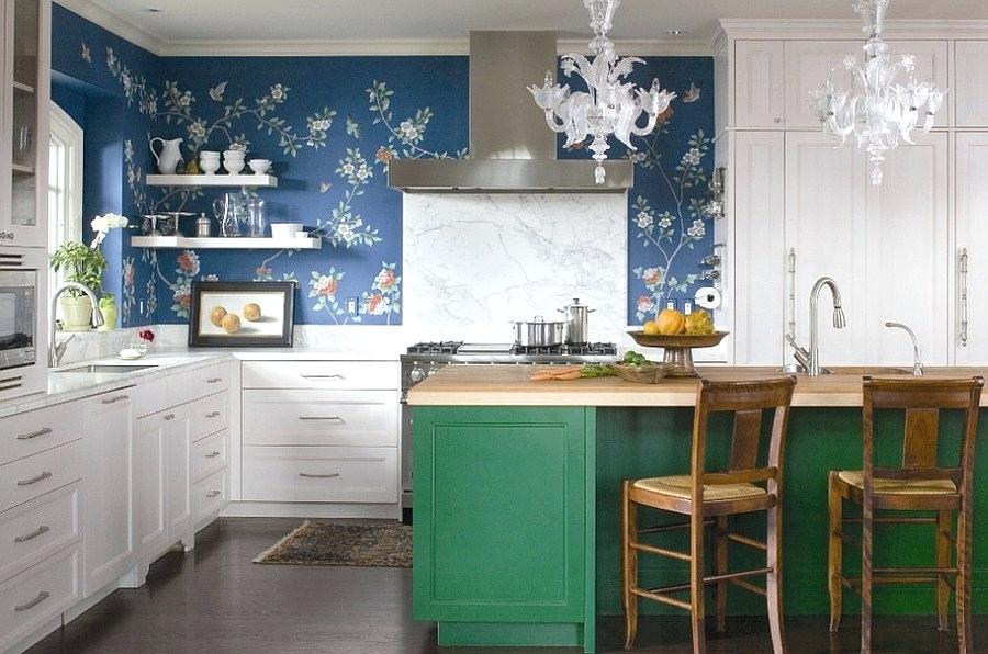 Kitchen Wallpaper Ideas Wall Decor That Sticks Homebase - Wall Painting For Kitchen - HD Wallpaper