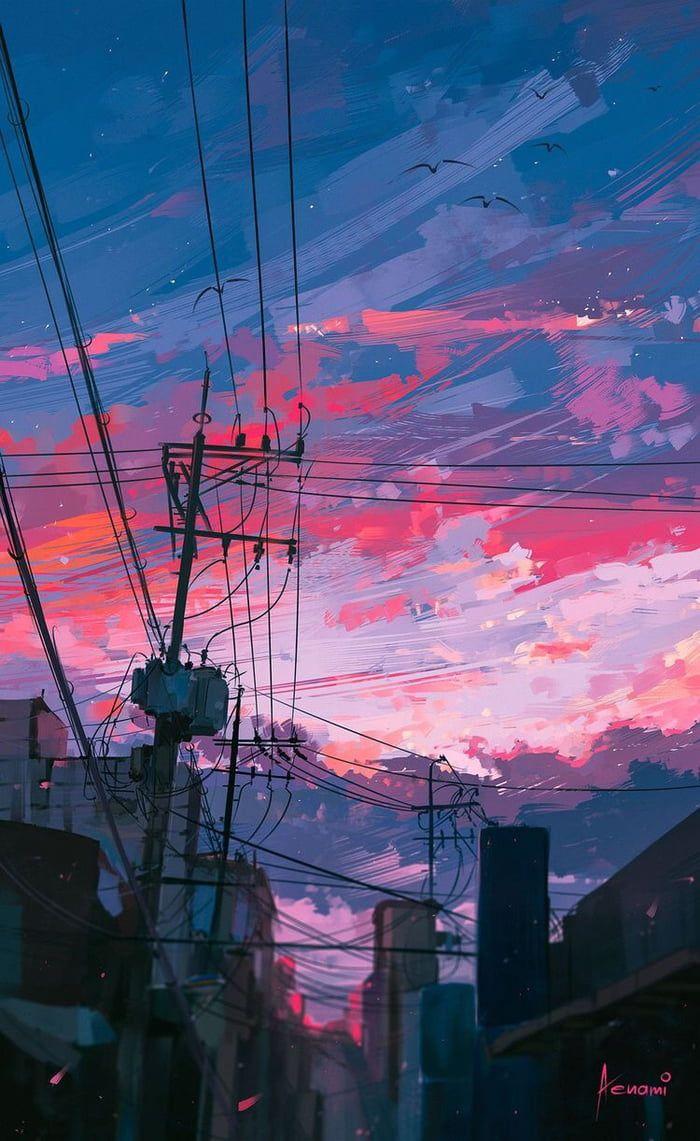 Aesthetic Wallpaper Anime - HD Wallpaper