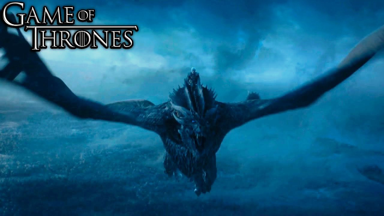 Dragon Nights King Game Of Thrones Wallpaper - Game Of Thrones Dragon Night King - HD Wallpaper