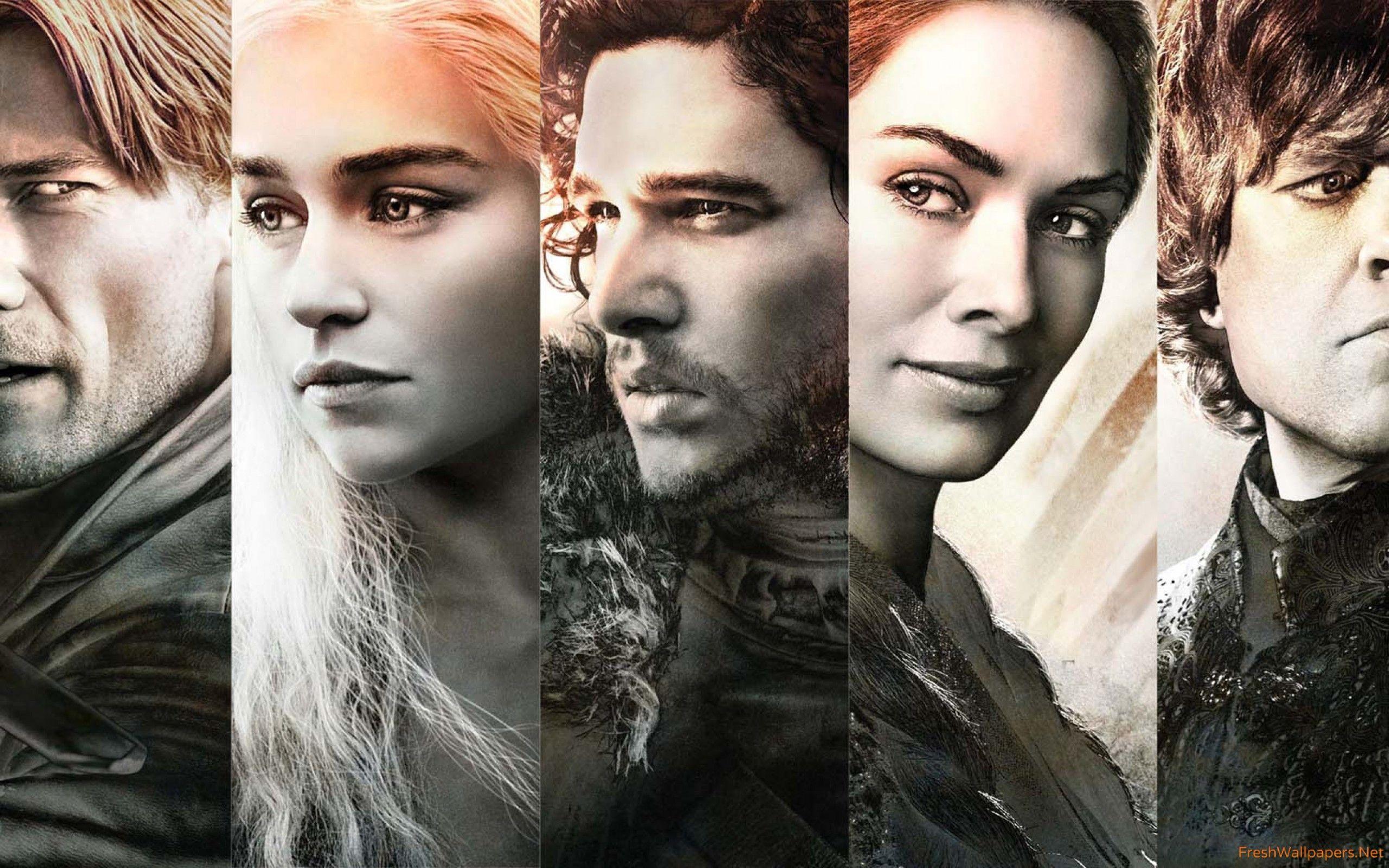 Game Of Thrones Season 5 Main Characters Wallpapers - Game Of Thrones Wallpaper Characters - HD Wallpaper