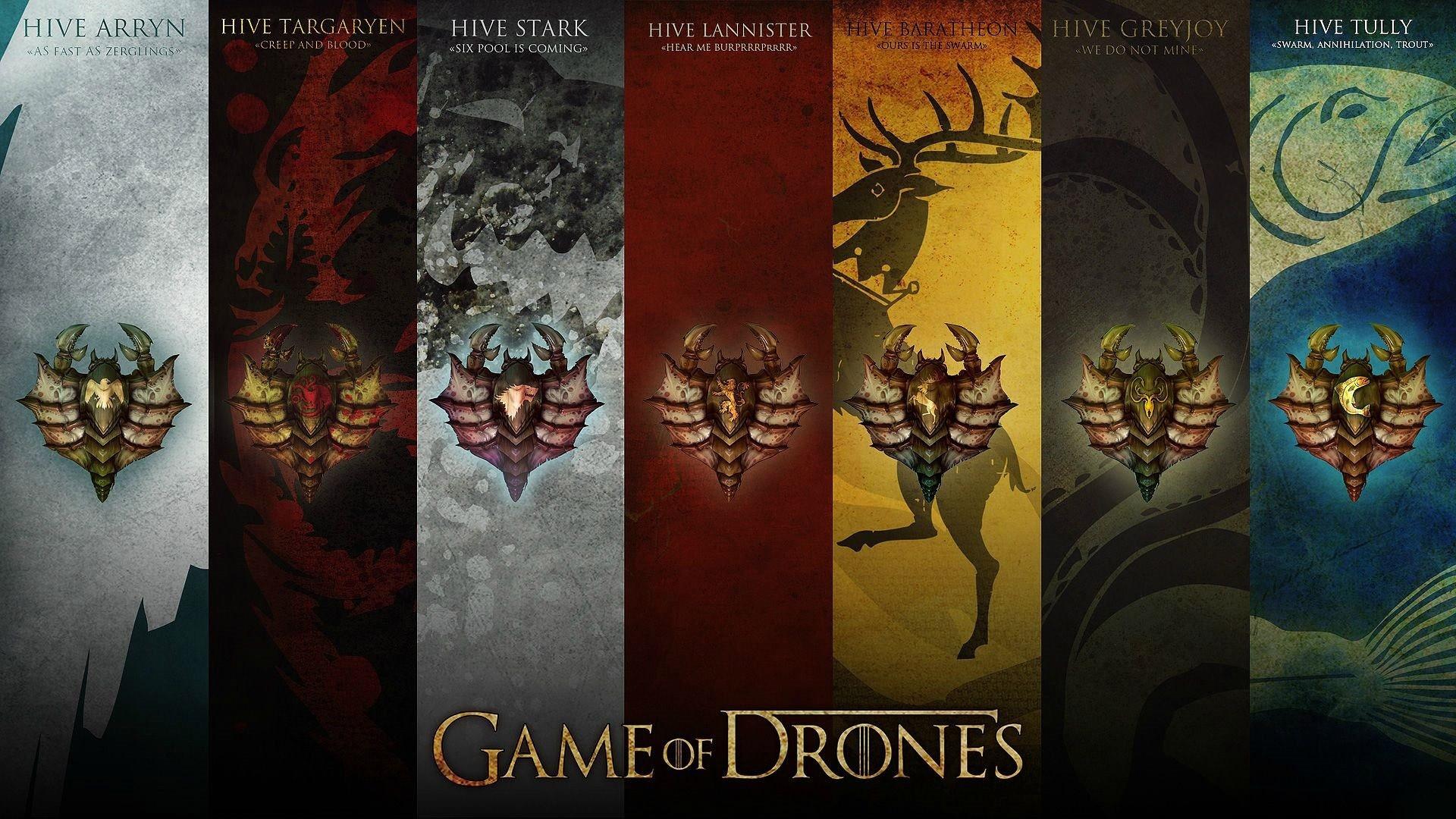 Game Of Drones Hd Wallpaper - Desktop Wallpaper Game Of Thrones - HD Wallpaper
