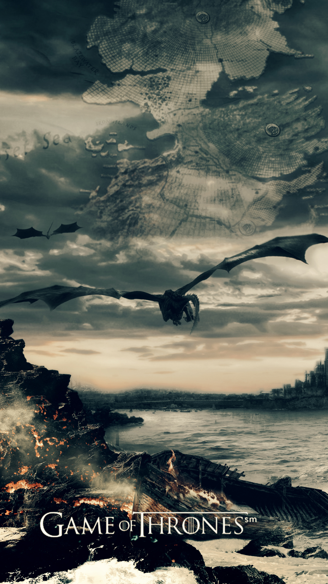 Game Of Thrones Background Hd Wallpaper, Beautiful - Daenerys Targaryen Wallpaper Pc - HD Wallpaper