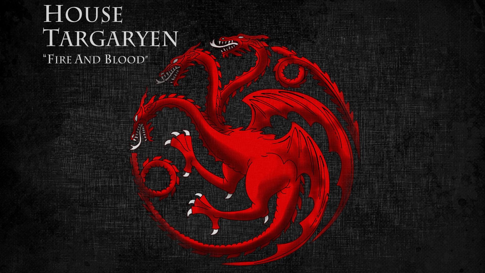 House Targaryen Game Of Thrones Wallpaper Hd With High-resolution - Game Of Thrones Targaryen High Definition - HD Wallpaper