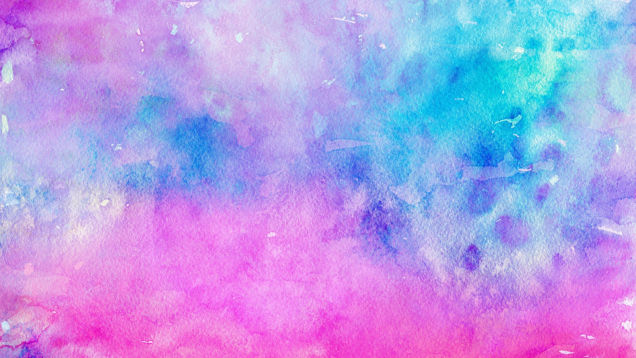 Wallpaper Paint Watercolor Stains Light Watercolor Pink Purple And Blue 2048x1152 Wallpaper Teahub Io