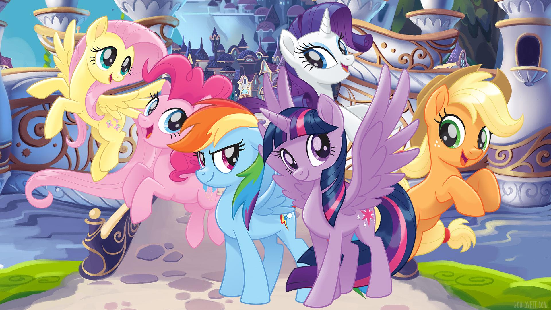 My Little Pony The Movie Wallpaper - My Little Pony Wallpaper Hd - HD Wallpaper