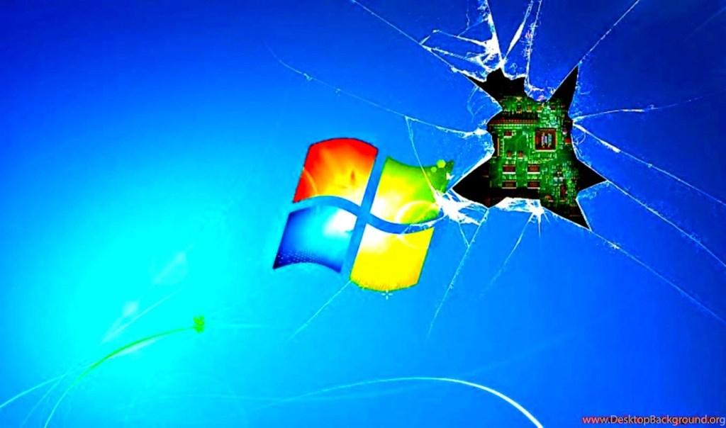 Broken Screen Wallpapers Windows 7 Hd - Windows 7 Broken Screen Wallpaper Hd - HD Wallpaper