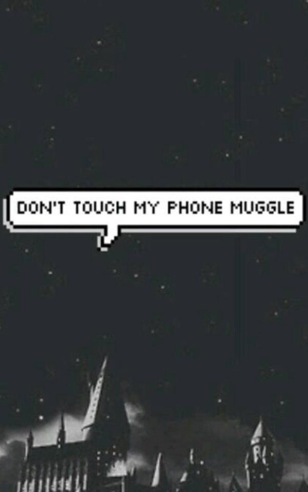 Phone, Wallpaper, And Muggle Image - Harry Potter Locked Screen - HD Wallpaper