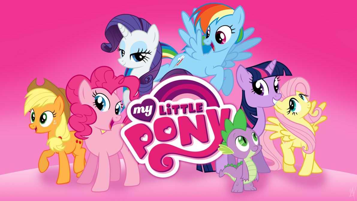 My Little Pony Wallpaper - My Little Pony Serie - HD Wallpaper
