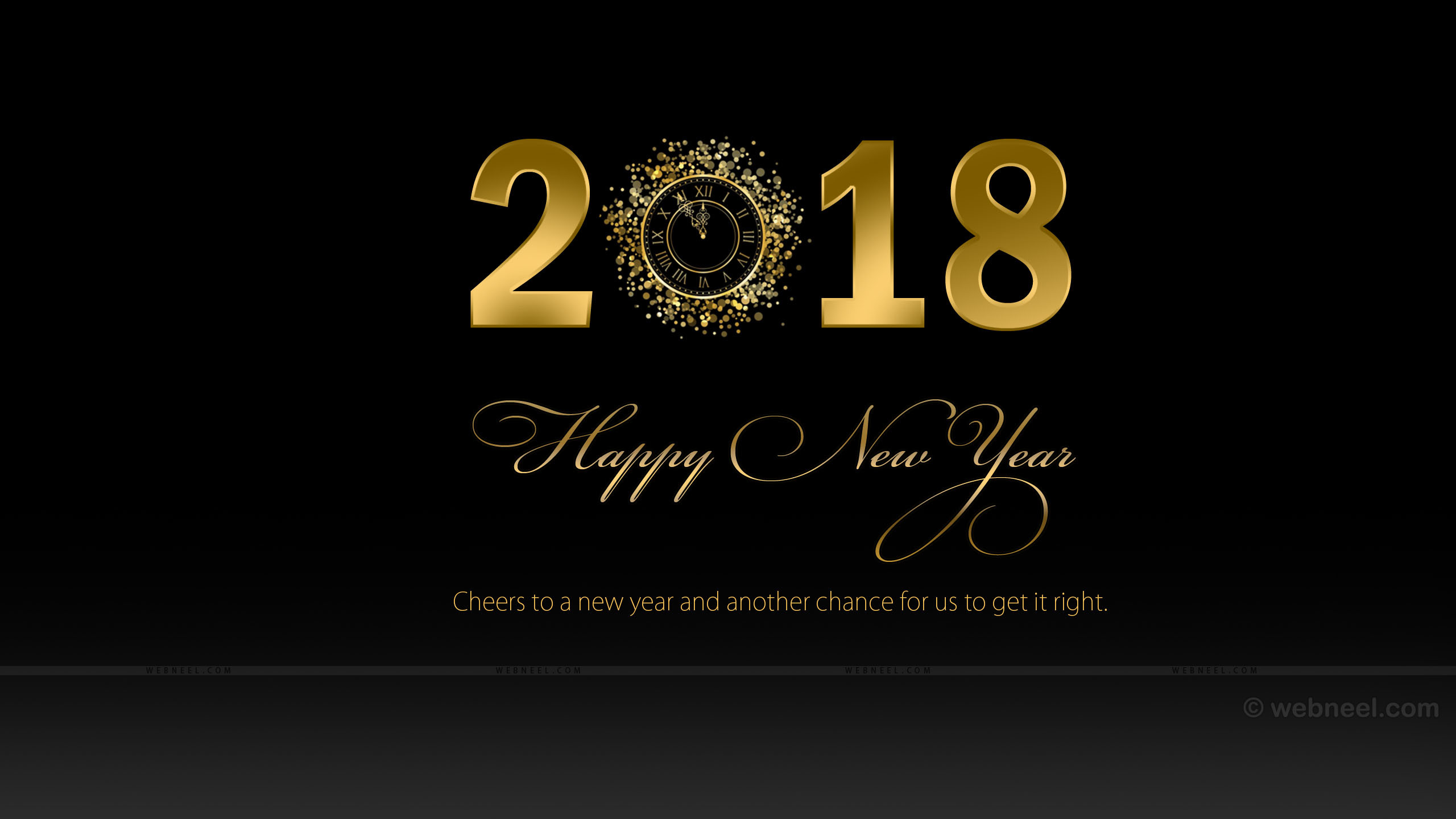 New Year, 2018 Wallpaper, Hd New Years Wallpapers, - New Year Wallpaper Hd 2018 - HD Wallpaper
