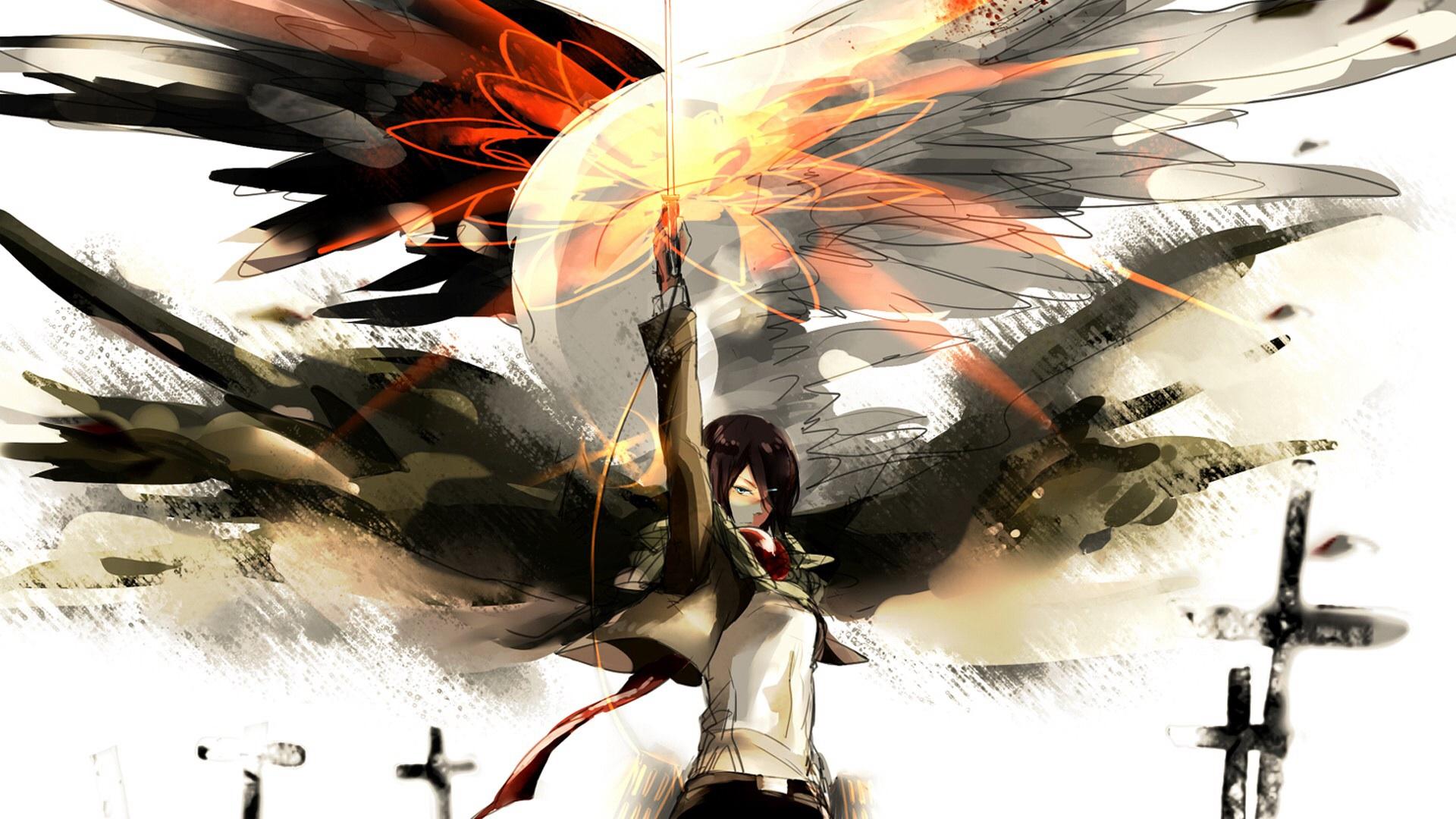 Mikasa Wallpaper - Attack On Titan Wallpaper Mikasa - HD Wallpaper