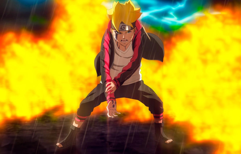 Photo Wallpaper Power, Boy, Naruto, Stand, Boruto - Boruto: Naruto Next Generations - HD Wallpaper