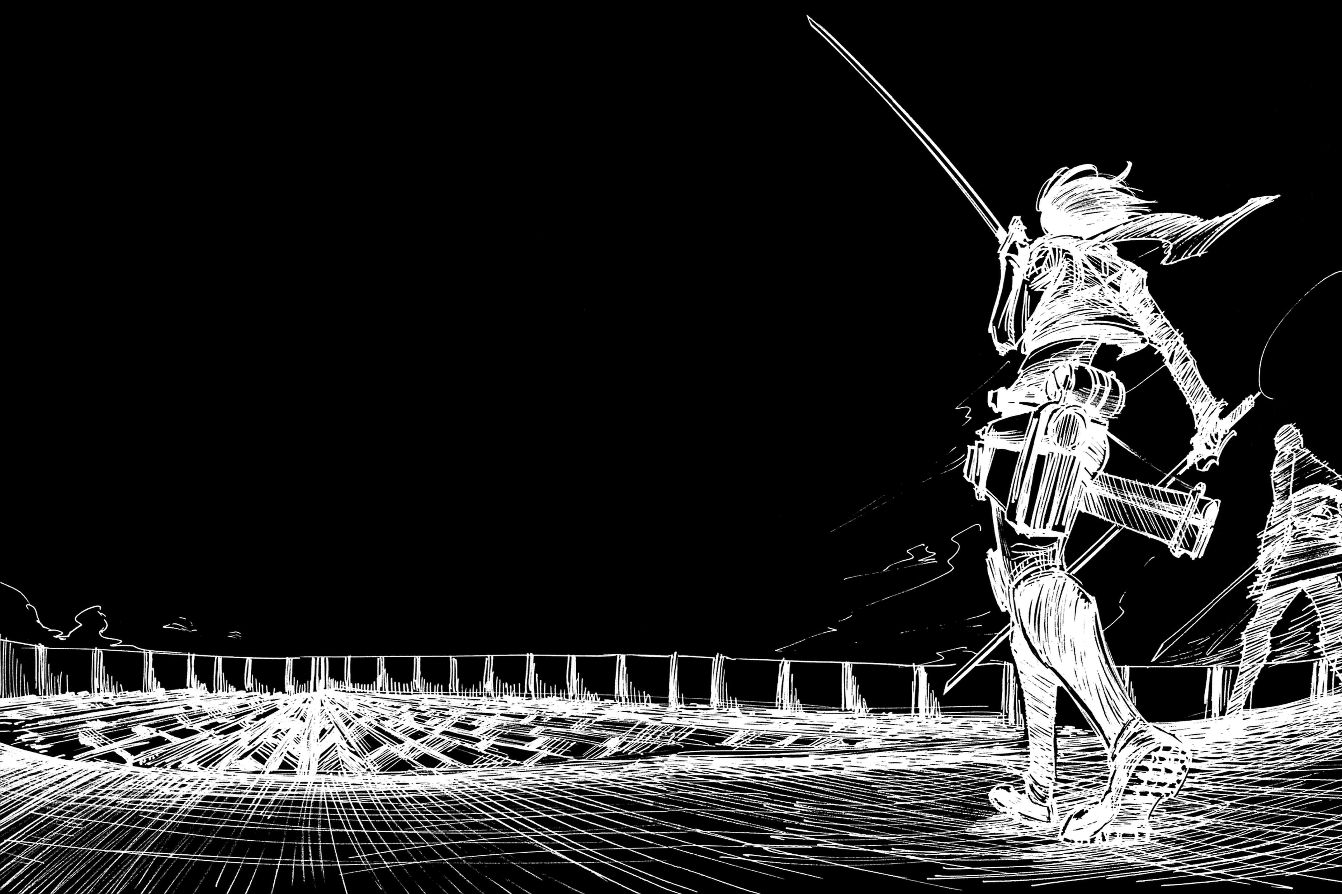 Anime Attack On Titan Wallpaper - Attack On Titan Wallpaper Manga - HD Wallpaper