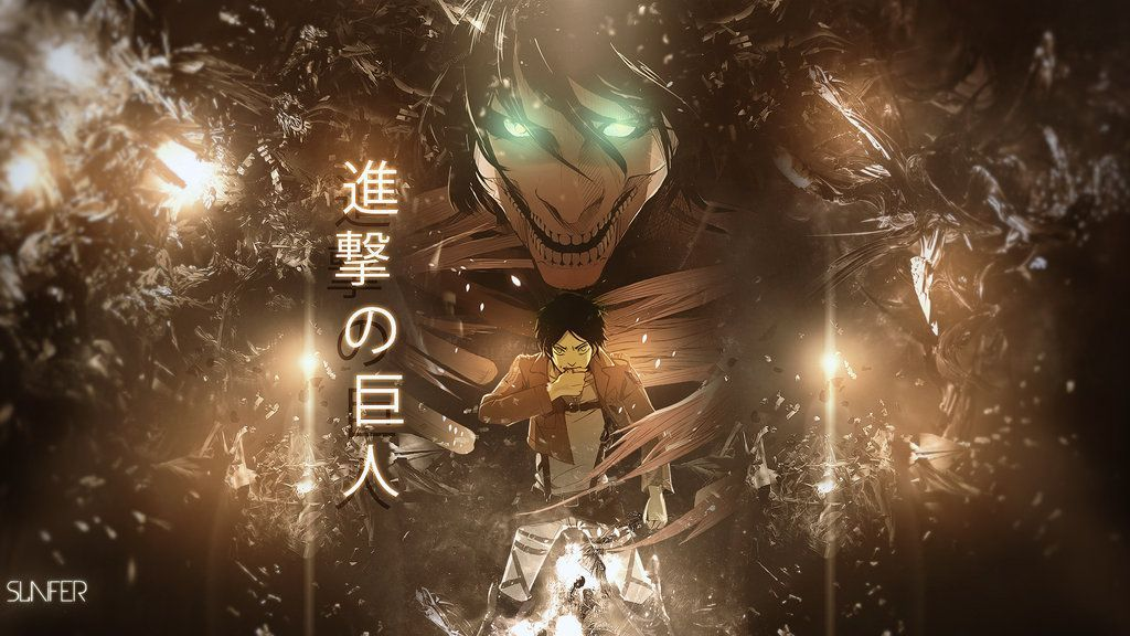 Collection Of Attack On Titan Hd Widescreen Wallpapers - 1080p Attack On Titan Wallpaper Hd - HD Wallpaper