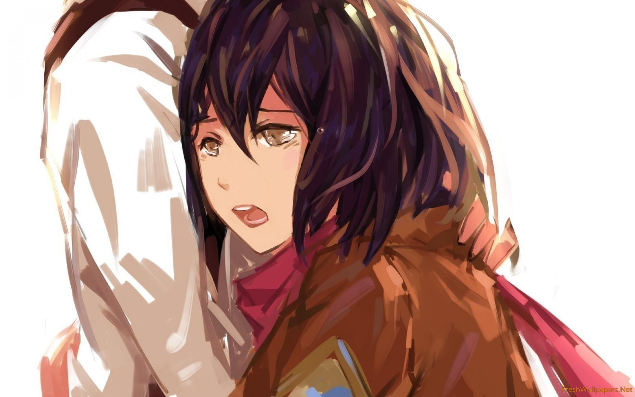 Hd Wallpaper Mikasa Ackerman Cool 2560x1600 Wallpaper Teahub Io