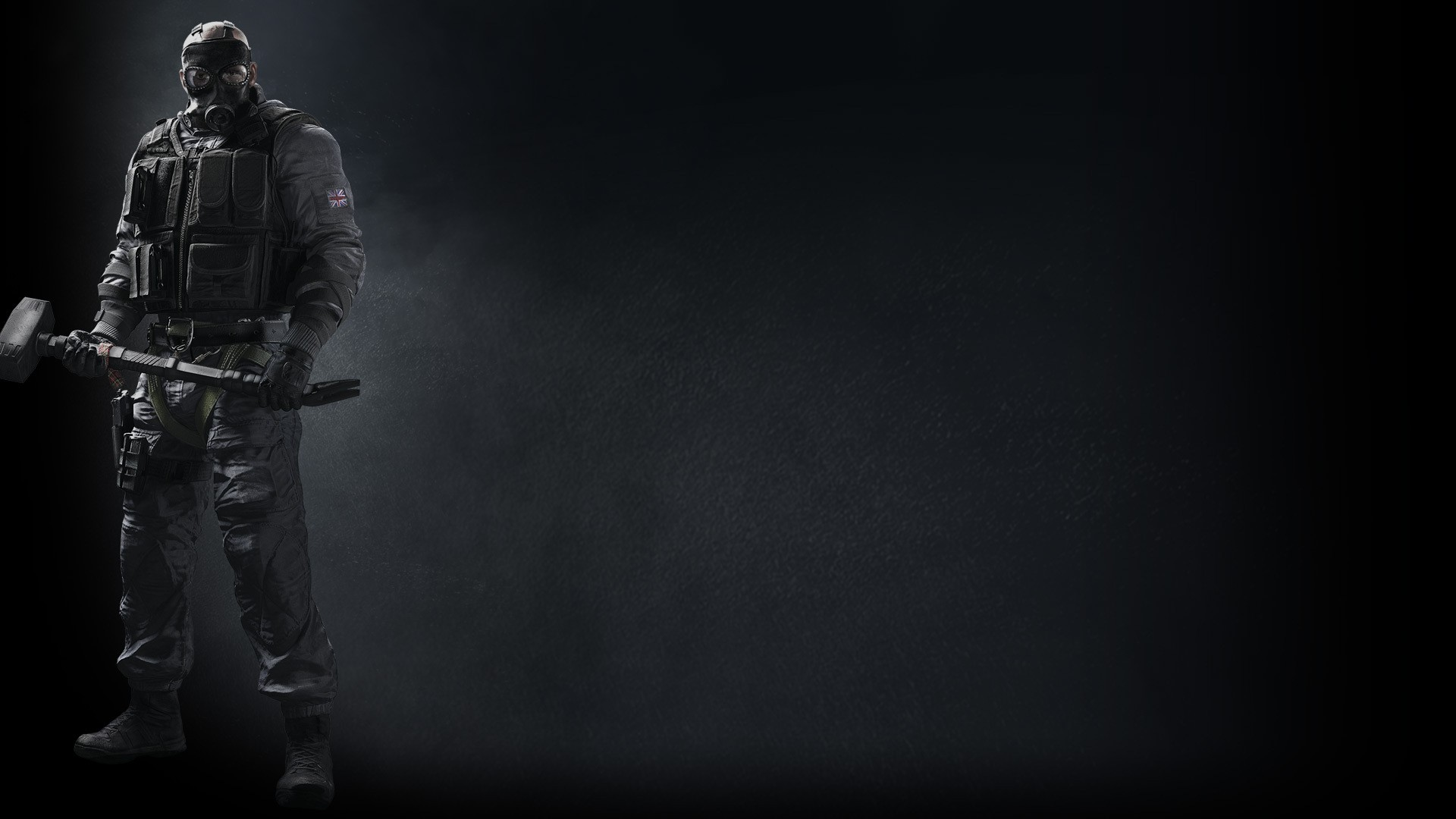 Tom Clancy S Rainbow Six Siege Background Sledge   - Rainbow Six Siege Steam Background - HD Wallpaper