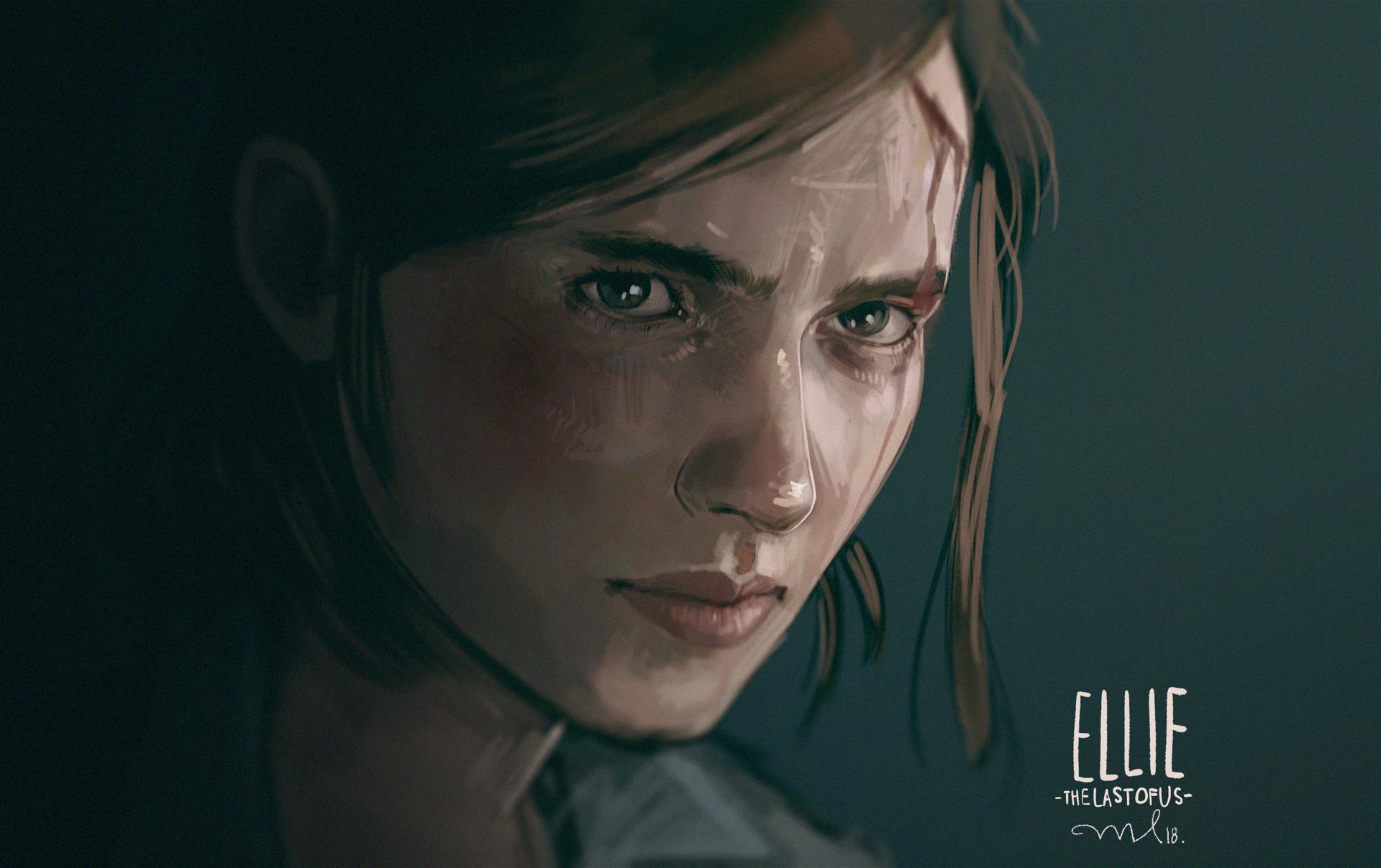 Wallpaper Of Ellie, The Last Of Us Part Ii, Video Game - Last Of Us Part Ii - HD Wallpaper