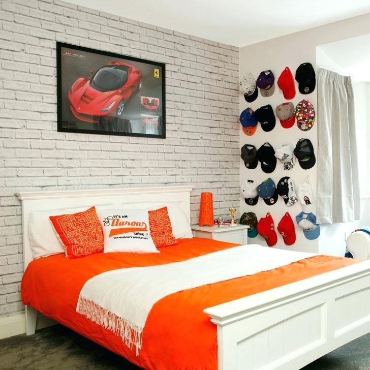 Boys Bedroom Ideas Brick Wall - HD Wallpaper