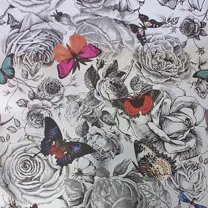 Butterfly Garden - Osborne And Little Butterfly - HD Wallpaper