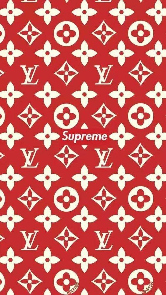 Supreme Lv Iphone 6 564x1002 Wallpaper Teahub Io