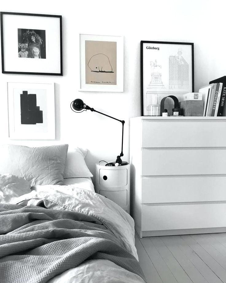 Black White And Grey Bedroom Astonishing Decoration Ikea Malm White Bedroom 736x919 Wallpaper Teahub Io