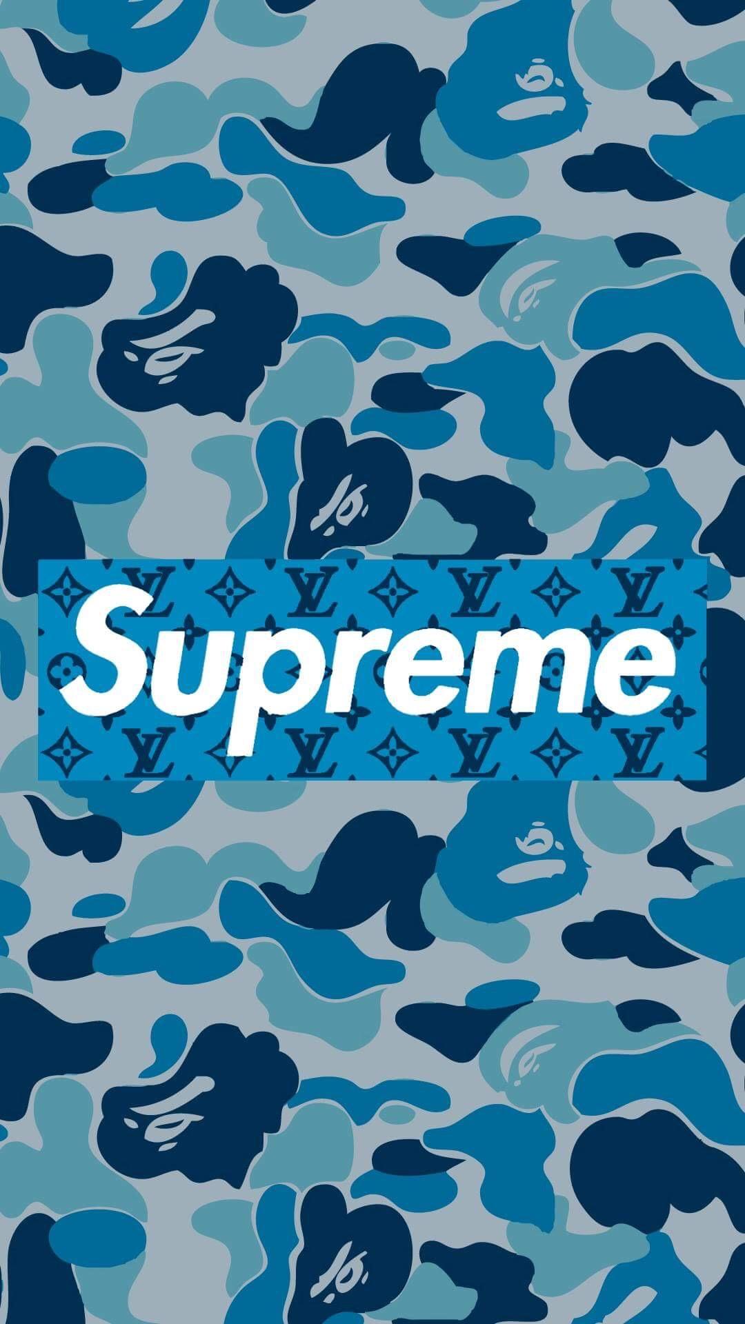 Camo Supreme Backgrounds - HD Wallpaper