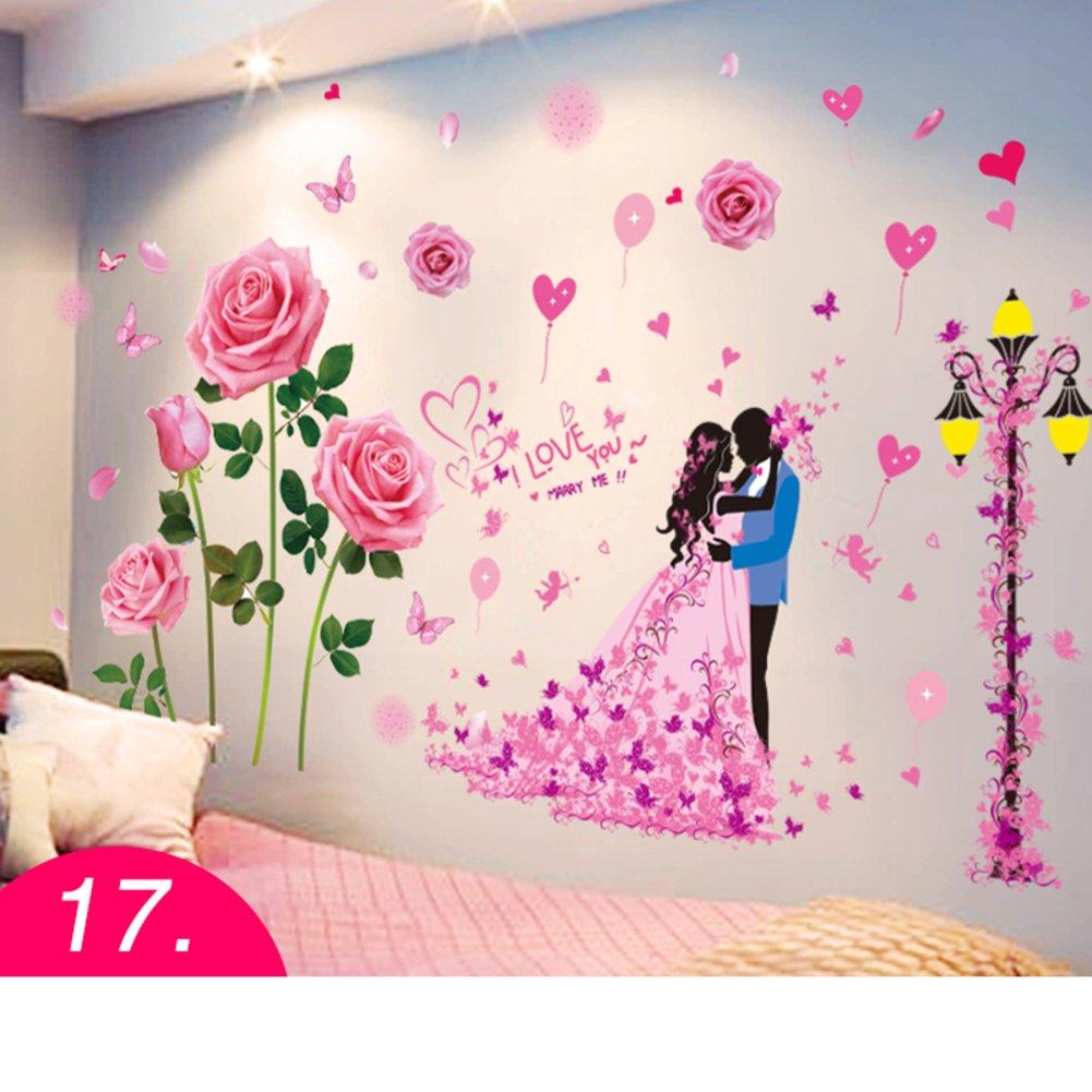 Bedroom Wall Painting Design - HD Wallpaper
