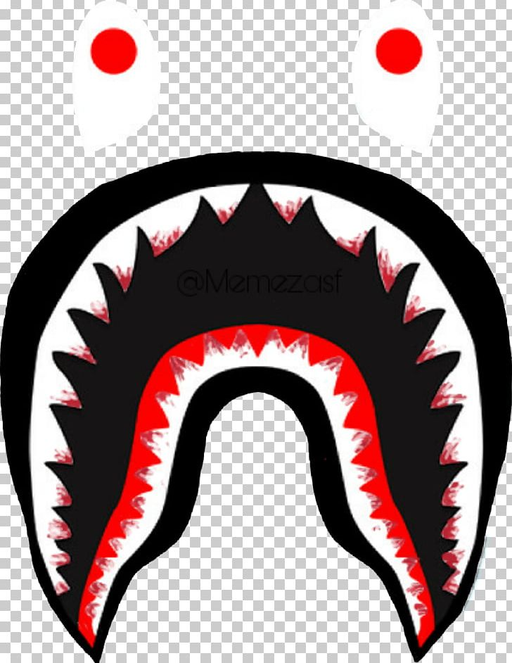A Bathing Ape T-shirt Hoodie Shark Brand Png, Clipart, - Bape Shark Png - HD Wallpaper