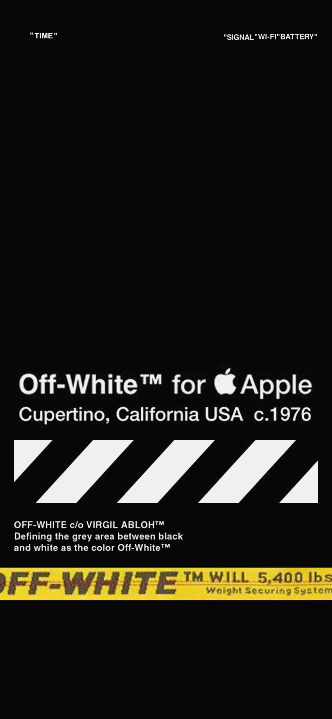 10 Supreme Wallpaper Hd Iphone X Off White Wallpaper Iphone X 1125x2436 Wallpaper Teahub Io