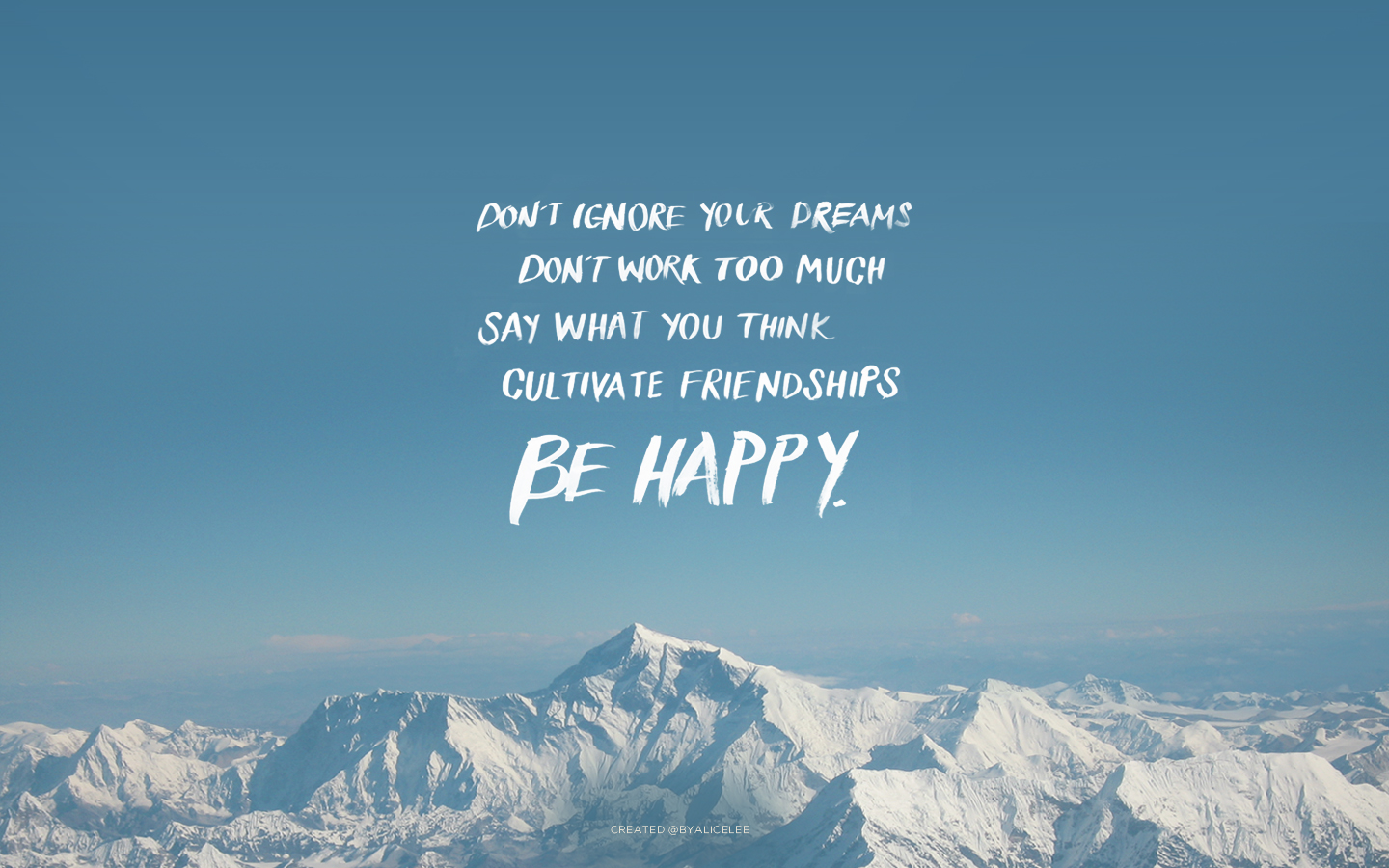 Dream Quote Wallpaper High Quality The Word - Mt Everest 2017 - HD Wallpaper