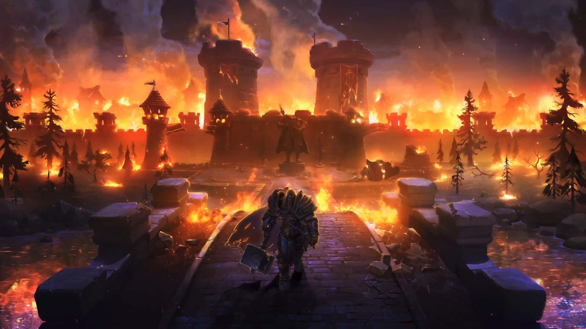 Warcraft 3 Reforged Arthas 1920x1080 Wallpaper Teahub Io
