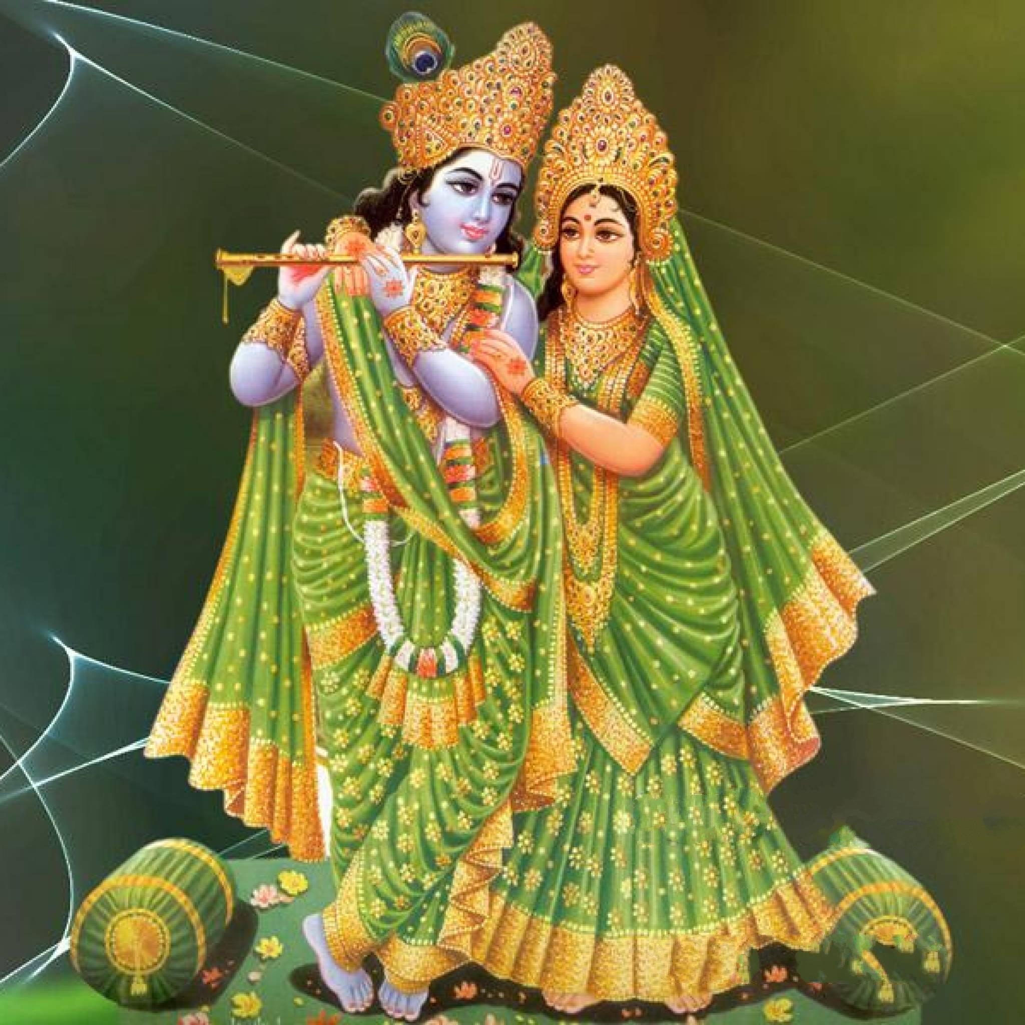 Radha Krishna God Wallpaper Hd - HD Wallpaper