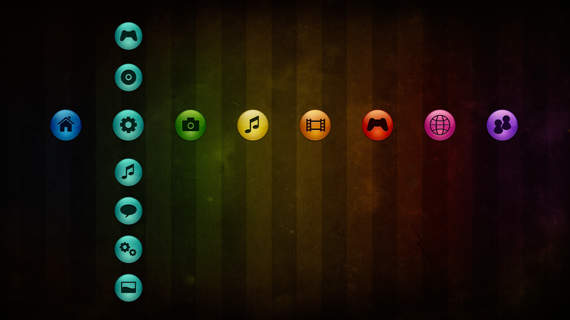 Playstation Colors Ps3 Theme Desktop Wallpapers High - Ps3 Background - HD Wallpaper
