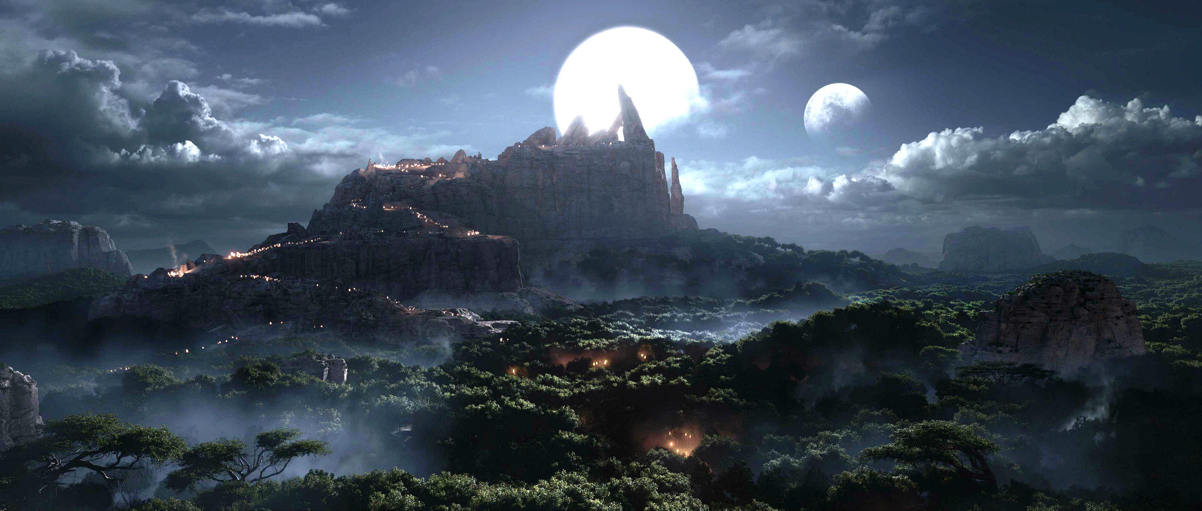World Of Warcraft Landscape 4000x1702 Wallpaper Teahub Io