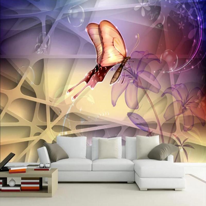 Butterflies Texture For Bedroom Walls - HD Wallpaper