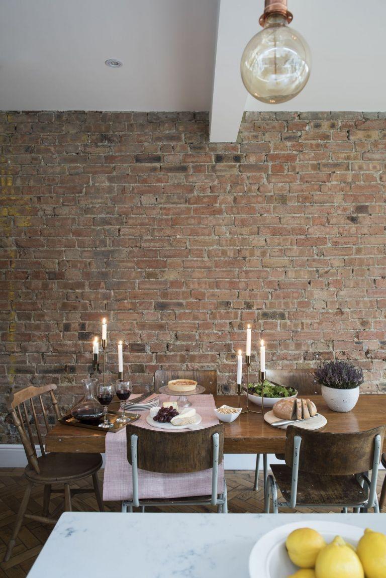 Brick Wall Kitchen Diner Ideas   9x9 Wallpaper   teahub.io
