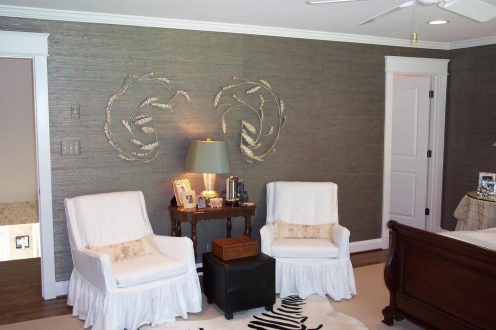 Pretty Metallic Wallpaper Trend Richmond Transitional Versace Wallpaper Bedroom Ideas 990x660 Wallpaper Teahub Io