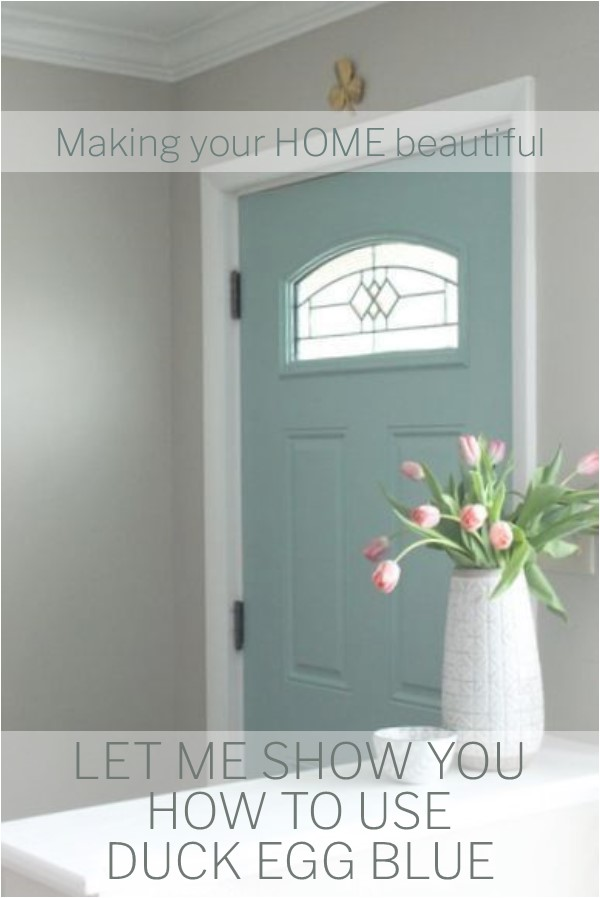 Let Me Show You How To Use Duck Egg Blue - Interior House Door Colors - HD Wallpaper