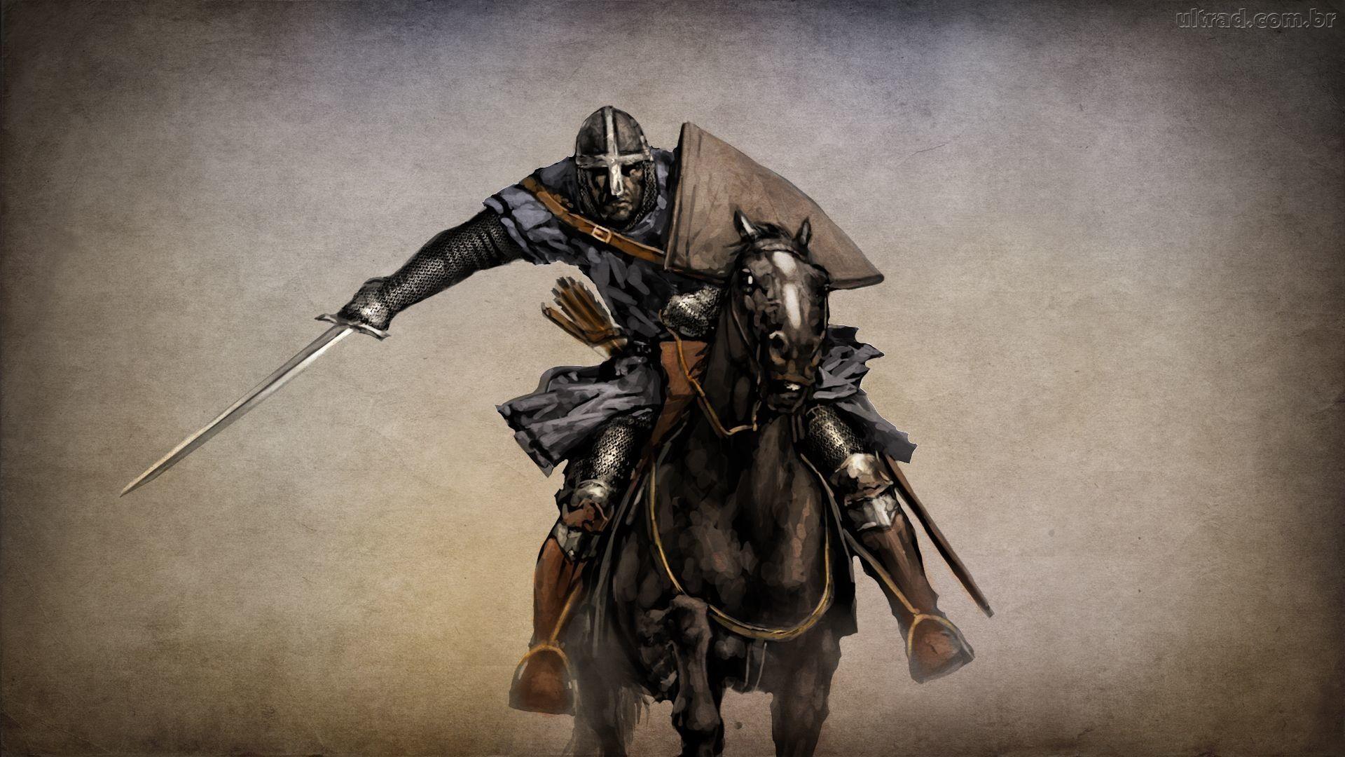 1920x1080, Knight Templar Skull Source - Mount And Blade Warband Artwork - HD Wallpaper