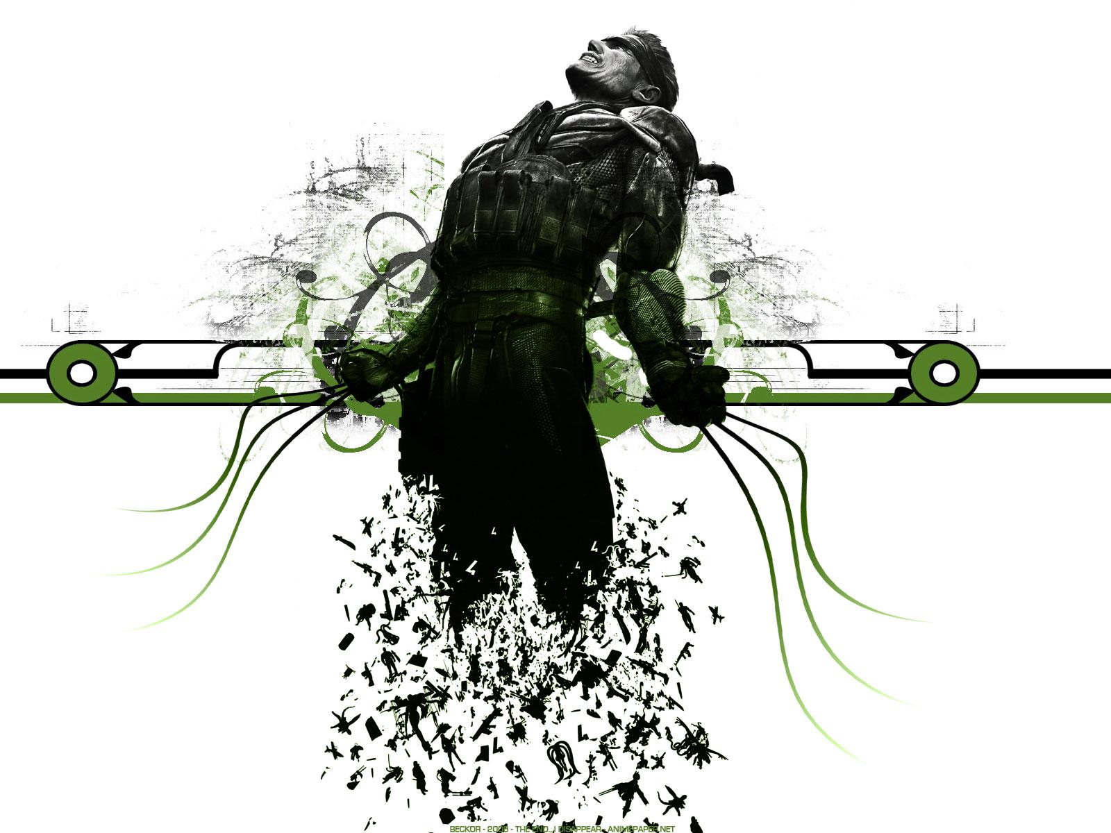 Metal Gear Solid 4 Art - HD Wallpaper