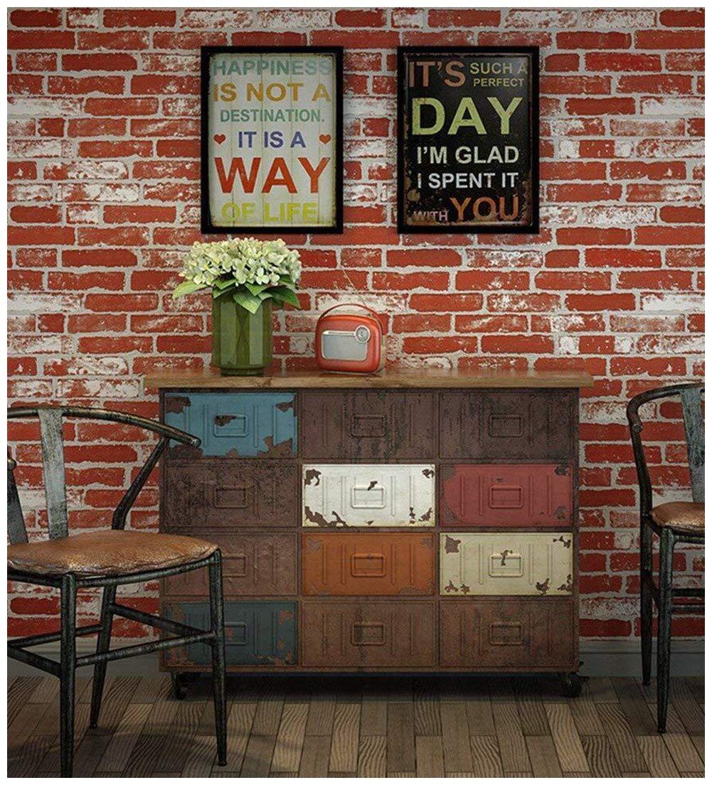 Red Brick Wall Panel - HD Wallpaper
