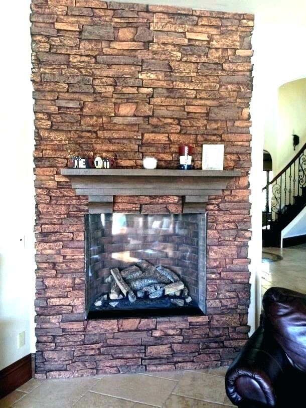 Lowes Brick Wall Faux Stone Panels Brick Wall Exterior Stone Sealer Fireplace 610x813 Wallpaper Teahub Io