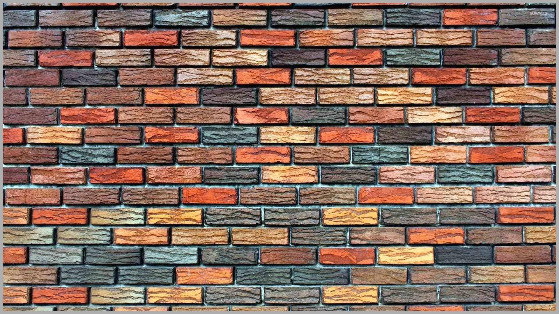 Brick Wallpaper Elegant Faux Stone Wallpaper Textured - High Resolution Brick Wall Background - HD Wallpaper