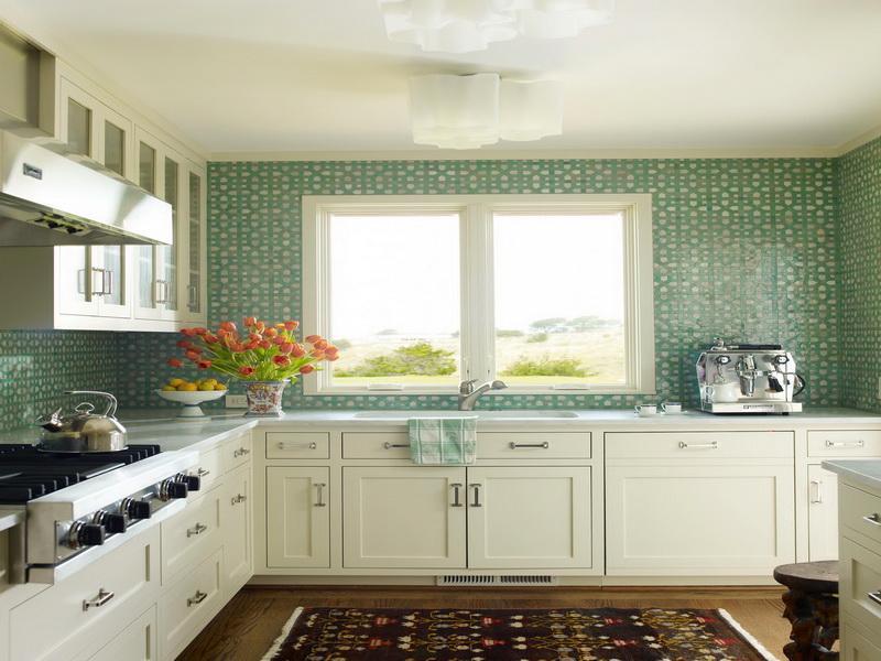 Green Moroccan Tile Kitchen Backsplash 800x600 Wallpaper Teahub Io