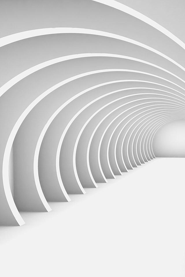 3d White Wallpaper Iphone 640x960 Wallpaper Teahub Io