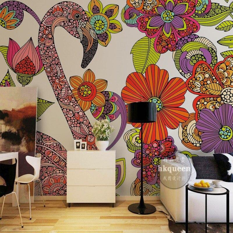 Hand Painted Wall Mural - HD Wallpaper