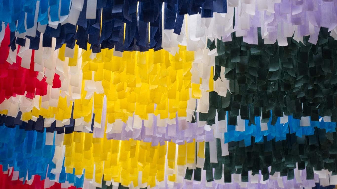 Abstract Desktop Wallpapers - Color Stripes Wallpaper Hd - HD Wallpaper