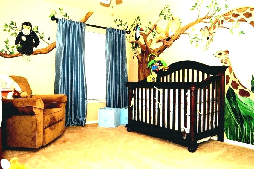 Animal Baby Room Decor Safari Baby Bedroom Theme Wallpaper - Baby Room Jungle Theme Ideas - HD Wallpaper