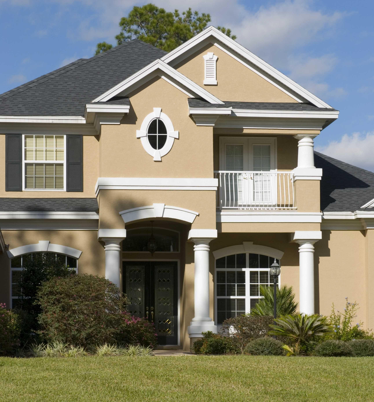 25 Inspirational Exterior House Paint Color Combinations - House White Color Combination - HD Wallpaper