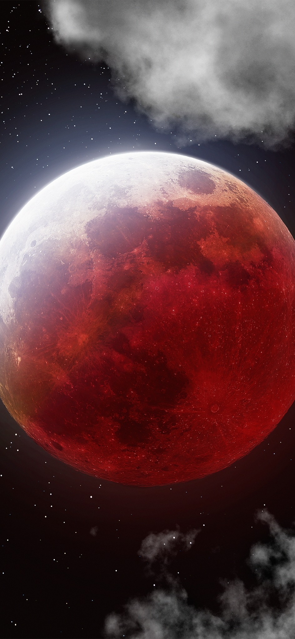 100 Megapixel Picture Of The Moon - HD Wallpaper